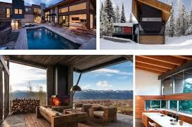 And while there are plenty of other types of ski homes, the newest trend in chalet  design ...