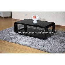 high glossy mdf coffee table