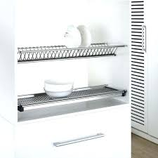 best dish drying rack wall mountable dish drainer 2 tiers kitchen hanging stainless steel wall mounted