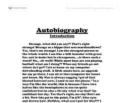 autobiography examples for high school students twenty hueandi co autobiography