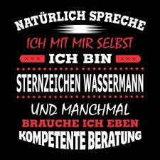 Wassermann Sternzeichen Horoskop Männer Premium T Shirt Spreadshirt