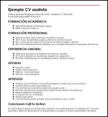 12 Ejemplos De Resume En Ingles Proposal Bussines