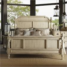 Lexington Twilight Bay Hathaway Panel Bed in Antique Linen ...