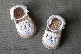 Free Crochet Patterns For Baby Sandals New Inspiration