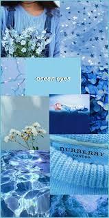 Light Blue Aesthetic Wallpaper : Kiwyku ...