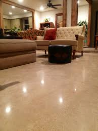 residential polished concrete flooring fort worth