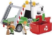 <b>Конструктор COBI Garbage Truck</b> with Roll-Off Dumpster 1781 ...