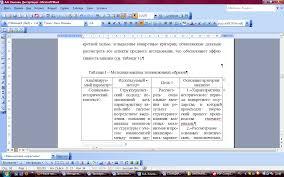 Дополнения к стандартам оформления курсовой работы Таблица на первой странице рисунок на следующей странице