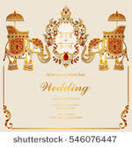 Indian Wedding Invitation Free Vector Art 12046 Free Downloads