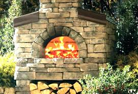 fireplace pizza oven insert outdoor wood inserts