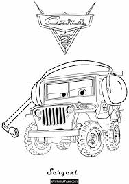 655x931 cars 2 printable coloring pages cars 2 sarge printable coloring