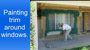 painting exterior trim. how to paint exterior window trim. painting trim .