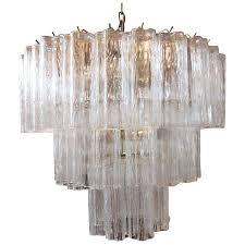 mid century chandelier west elm glass 3 tier x rosewood