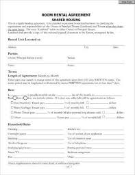 Room Rental Contract Beauteous 44 Room Rental Agreement Examples PDF Word