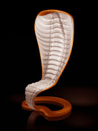 Furniture:Amazing Unusual Furniture With White Cobra Shape Ornament  Decoration Idea Amazing Unusual Furniture With