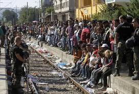 Resultado de imagen para refugiados sirios europa
