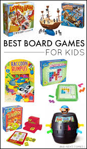 Best Board Games For Kids Board Gaming And Activities Toddler Color Games L