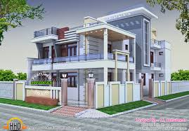india house design indian flat roof villa in 2305 sqfeet kerala