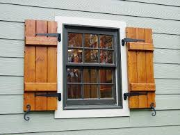 Decorative Outdoor House Shutters Exterior Window Shutters - Faux window shutters exterior