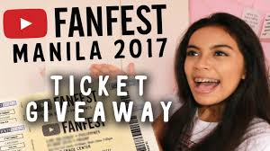 giveaway closed you fanfest manila 2017 tickets michsthemicah