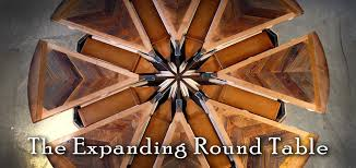 expanding round table. Expanding Round Table Drk Architects Great