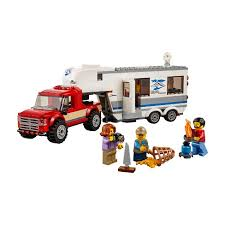 LEGO City Great Vehicles Pickup & Caravan 60182 : Target