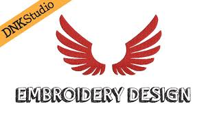 Angel Wings Applique Design Angel Wings Embroidery Design Youtube