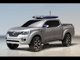 Renault Alaskan Pickup Truck Concept Heads to Frankfurt - YouTube
