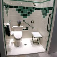contemporary handicap accessible bathtub the danger of stepping into a bathtub is eliminated and a low threshold handicap accessible shower can be handicap