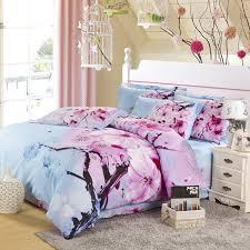 image of japanese cherry blossom bedding sets