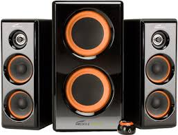 speakers with subwoofer. black friday eagle arion soundstage speakers with dual subwoofers - to 100 watts from tech subwoofer p