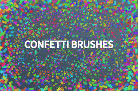 Confetti Brush Photoshop Candy Confetti Styles Photoshop Adobe Download