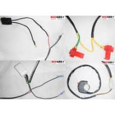 motorcycle relay harness wiring auxiliary lights horns chargers universal motorcycle pnp wiring harness relay handlebar switch