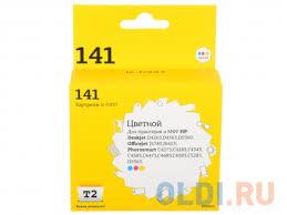 <b>Картридж T2 IC-H337 №141</b> CB337HE цветной (color) 170 стр ...