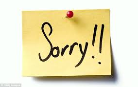 Don't Say Sorry When Rejecting Somebody Please Don't Scientists Inspiration Sorry