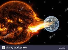 Solar Storm-Elemente dieses Bild von ...