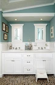 Bathroom White Curtain Bathroom Sink Lights Wooden Floor Rustic