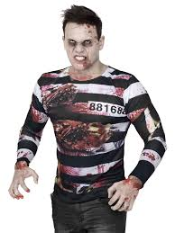 and Adults For Zombie - Adults Fancy Costumes Prisoner Dress Costume Vegaoo Costumes