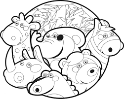 zoo animals coloring pages attractive cute baby animal example astonishing of
