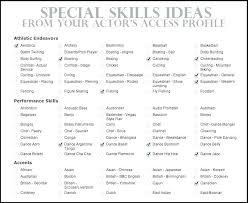 Resume Skills Sample Fascinating Business Skills For Resume Example Of Skills On Resume Technology