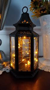 Rustic Lantern Lights Old West Stagecoach Battery Operated Lantern Table Lamp Black Led Fairy String Lights Rustic Battery Lamp Whimsical