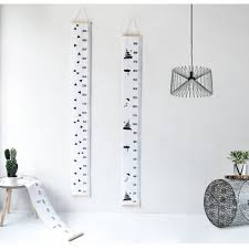 Hanging Growth Chart Baby Height Growth Chart Hanging Rulers Kids Room Wall Wood Frame Fabric Ruler Room Decoration Buy Height Growth Chart Hanging Rulers Fabric Wall