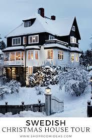 Swedish Christmas House Tour - Turn of the Century Stockholm Villa ...