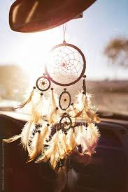 Dream Catcher For Car Mirror Stunning Stock Photo Dream Catcher Hanging From A Car Rear View Mirror