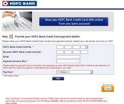 How does this facility help me in paying my credit card bills? Hdfc Credit Card Cc Login Netbanking And Mobile App