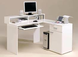white desk with storage furniture modern white computer corner desk with keyboard tray and storage corner white desk with storage