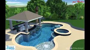 Pool Bar Design Ideas Swim Up Bar Pool Video Porches And Pools Pool