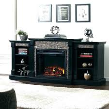 bobs furniture electric fireplace stone
