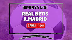 Canlı izle Real Betis Atletico Madrid Spor Smart şifresiz ve canlı izle, Real  Betis Atletico Madrid maçı hangi kanalda? Real Betis Atletico Madrid maç  sonucu - Tv100 Spor