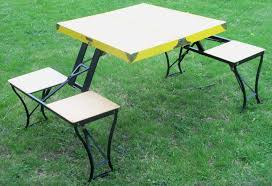 perfect fold up picnic table